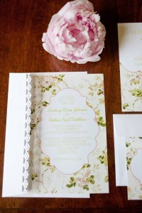 Garden Party Formal Invites