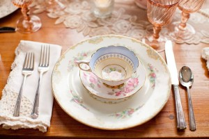 Garden Party Vintage China